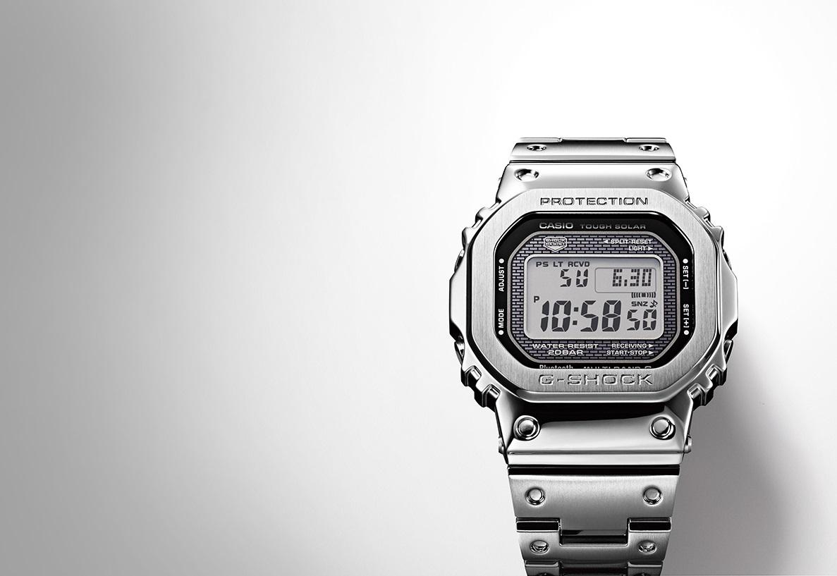 e1f65e073364 Casio ripropone il classico G-Shock in versione più smart