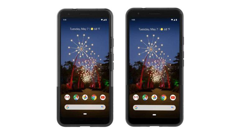 Google Pixel 3a e Pixel 3a XL si mostrano nel primo render ufficiale
