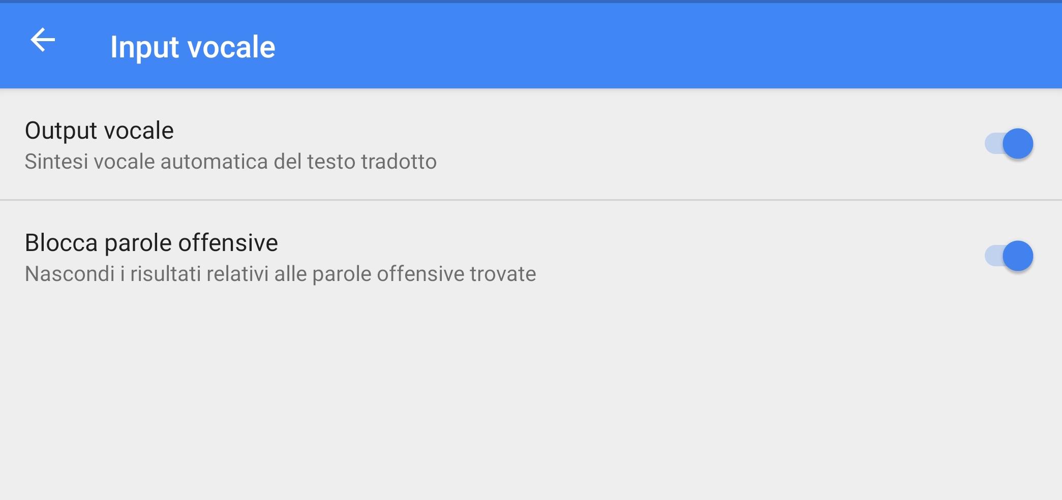 Google Traduttore parole offensive