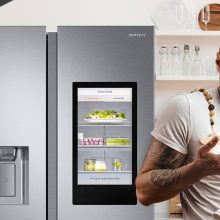 Samsung regala una smart TV 4K da 55 pollici a chi acquista un frigorifero FamilyHub