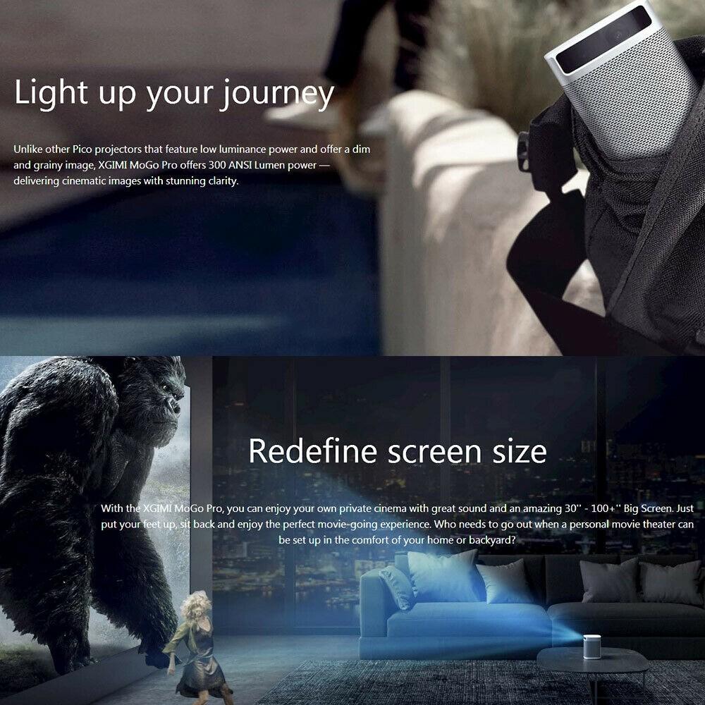 Il cinema ovunque con Xiaomi XGimi MoGo Pro, proiettore portatile ...
