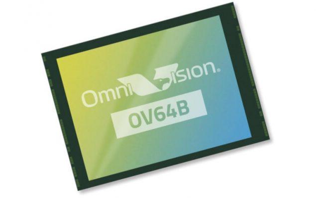 omnivision ov64b sensore fotocamera 64 mp