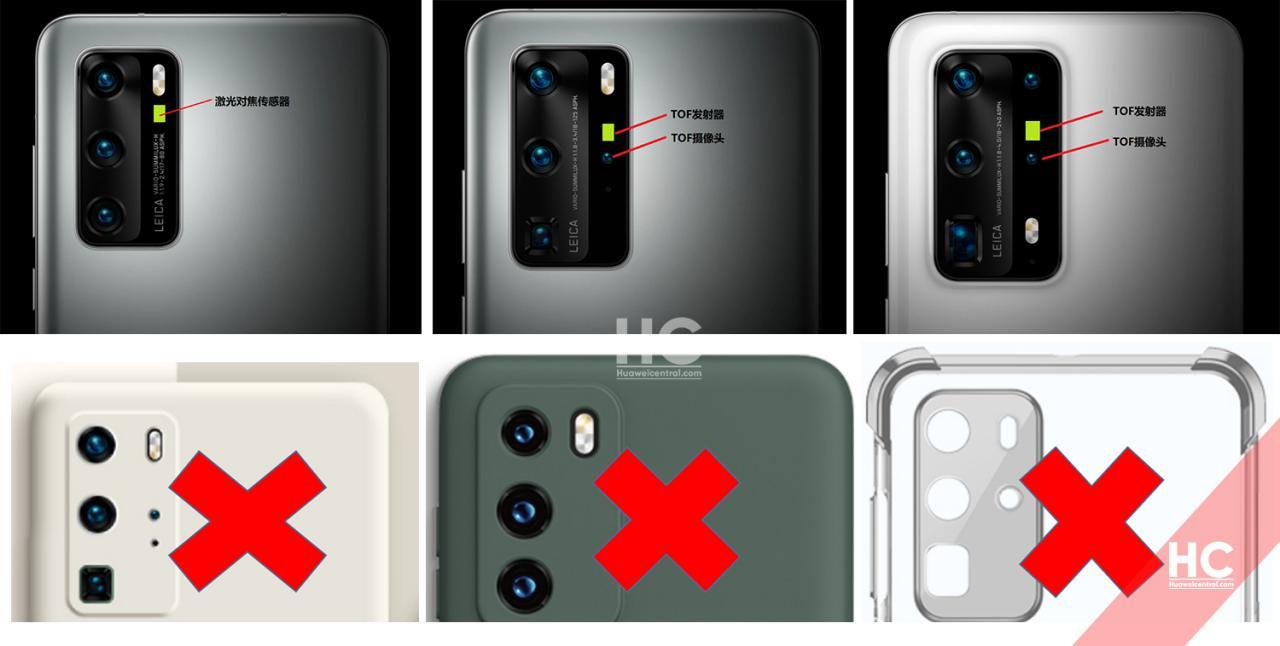Huawei P40 accessori