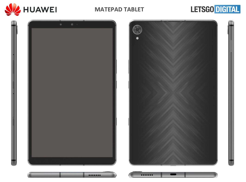 tablet huawei render